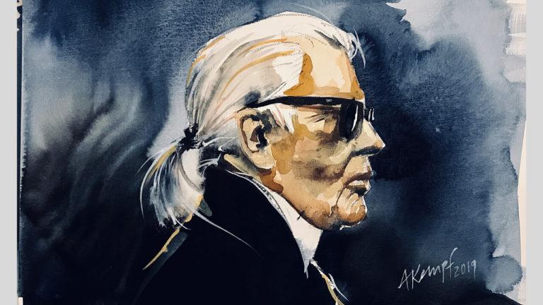 Tschüss Karl Lagerfeld!