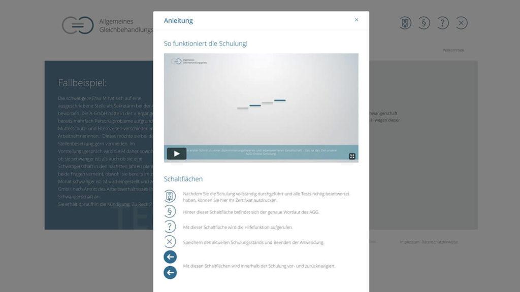 AGG-Zertifikat - Online Schulung - Erklaerfilm