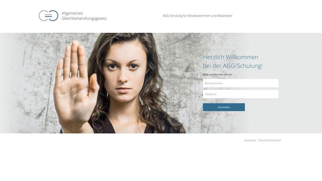 AGG-Zertifikat - Online Schulung - Anmeldung