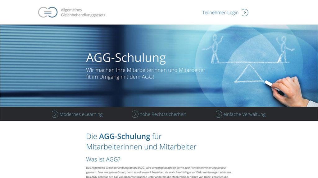 AGG-Zertifikat - Online Schulung - Start