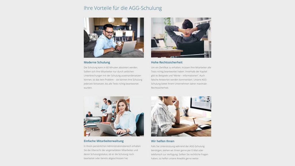 AGG-Zertifikat - Online Schulung - Vorteile