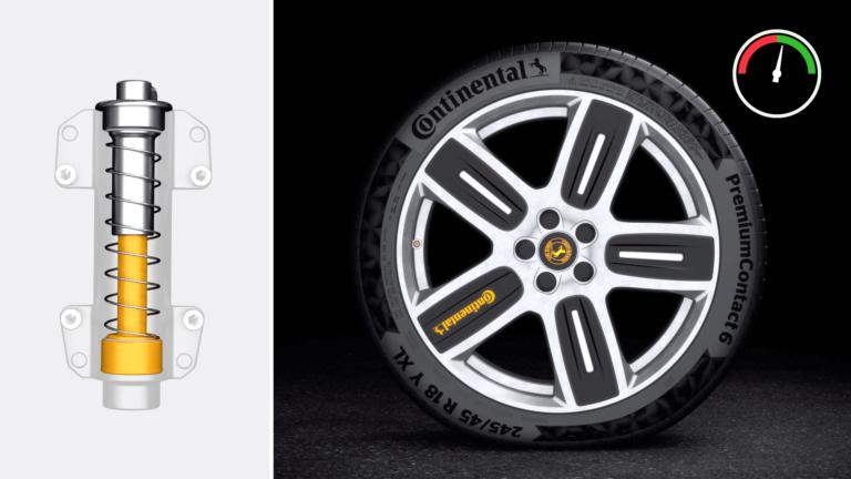 Die Reifeninnovation der Continental AG zur IAA2019